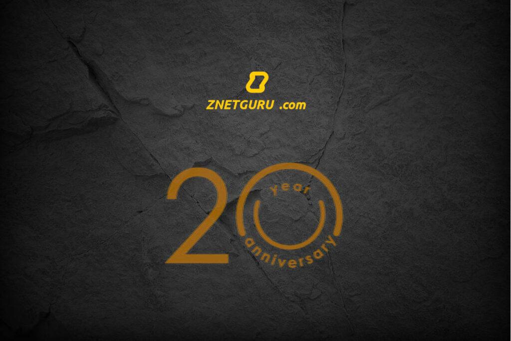 aniversario 20 anos znetguru